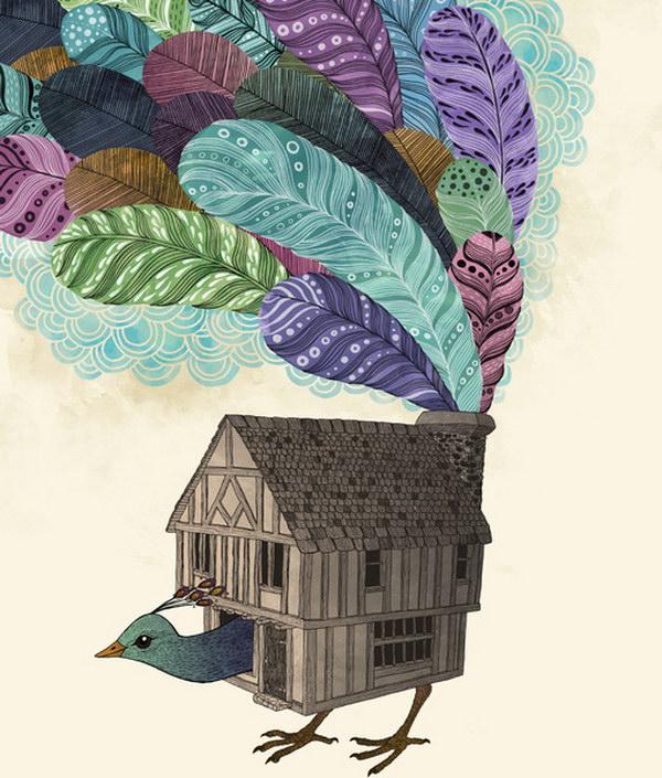 Милые иллюстрации Laura Graves