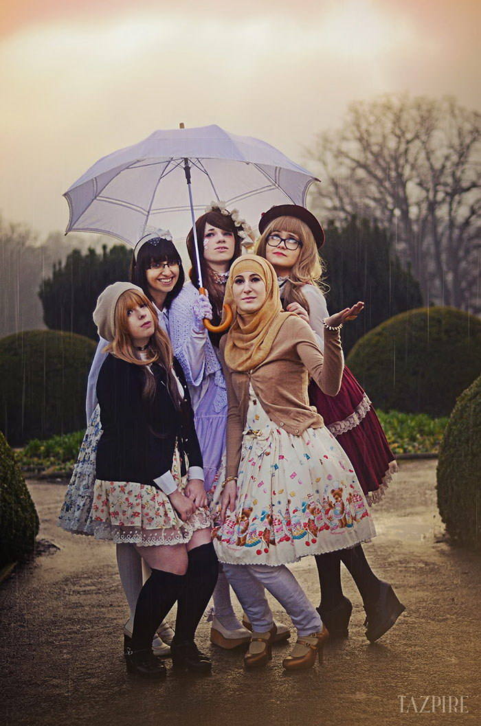 Невероятная мусульманская мода 2015 года