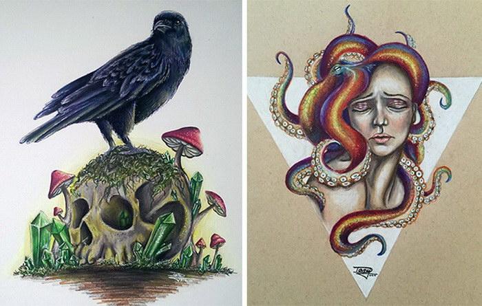 Яркие рисунки Dany Lizeth