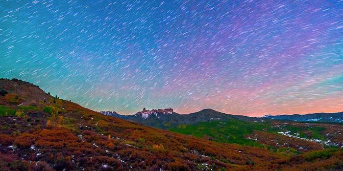 Орегон фотографирует звездное небо