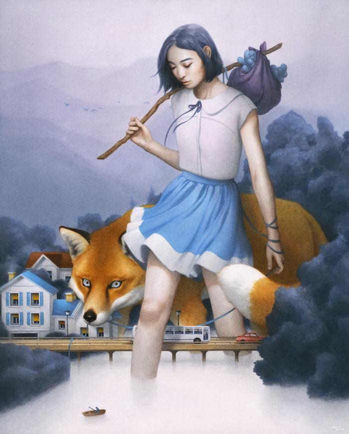Новые картины Tran Nguyen