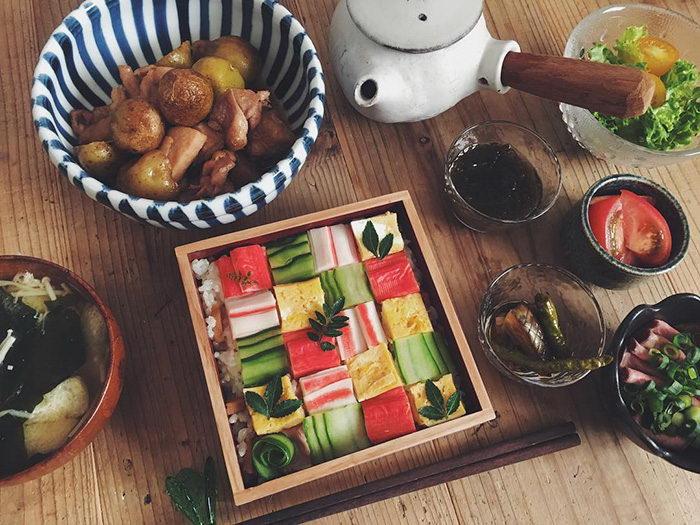 Суши мозаика: новый японский тренд