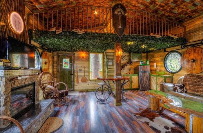 Отель в стиле «Властелина Колец»