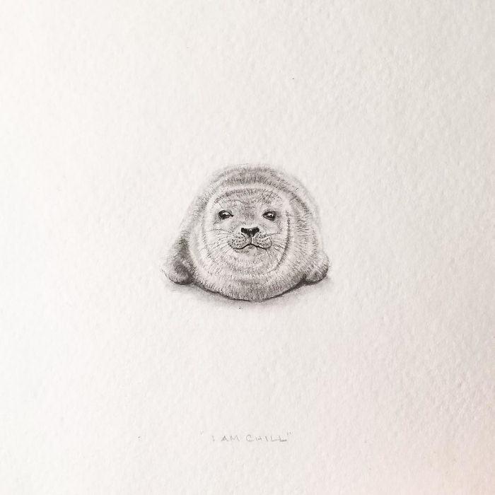 Миниатюрные зарисовки Shawnalee Anderton