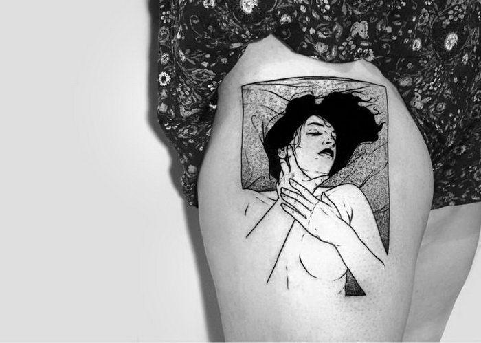 Вульгарные татуировки Sad Amish