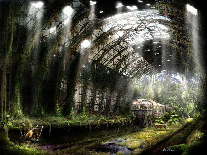 Конец света: иллюстрации Владимира Манюхина