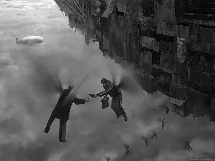 Фантазийные миры Frank Melech