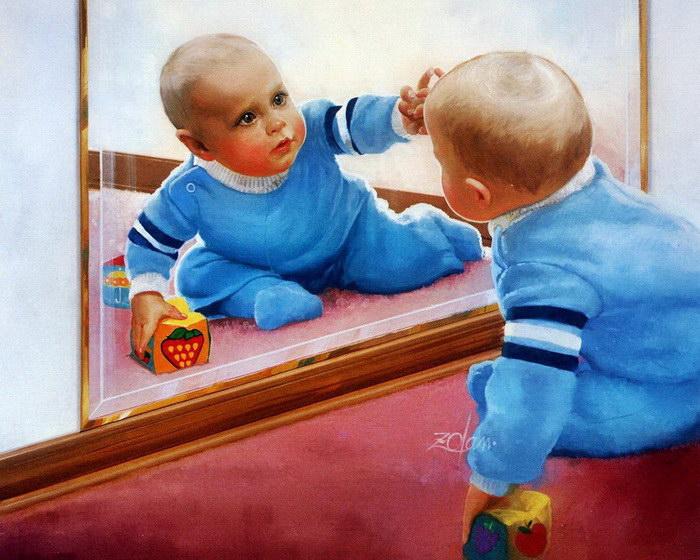 Портреты детей Donald Zolan