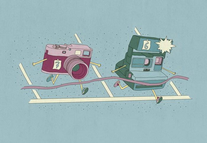 Милые иллюстрации Teo Zirinis