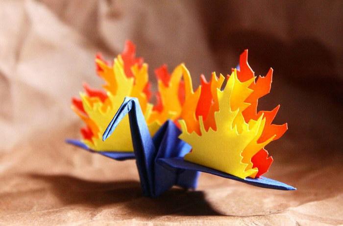 Красивые оригами Cristian Marianciuc