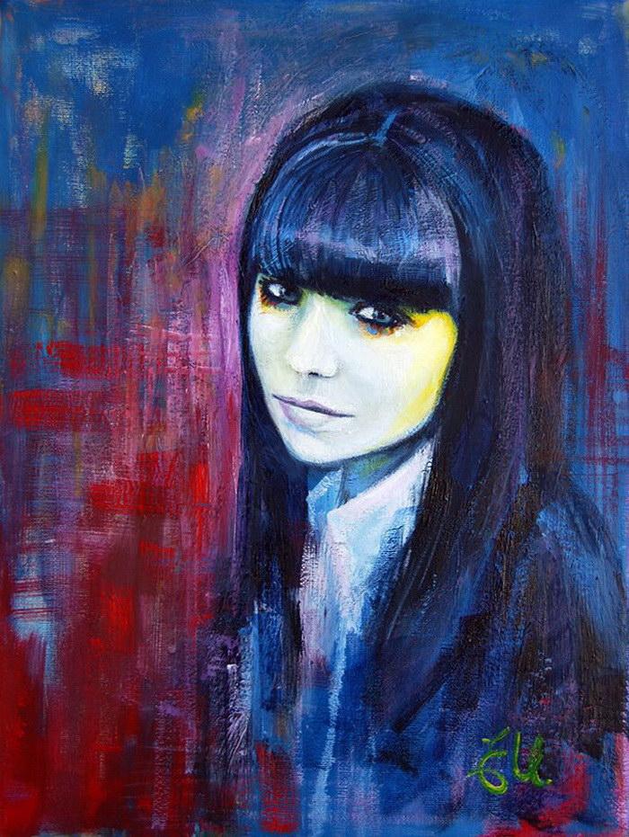 Яркие портреты женщин Emma Uber