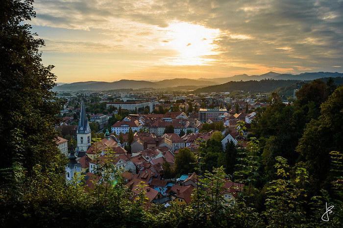Словения в фотографиях Jan Suchanek