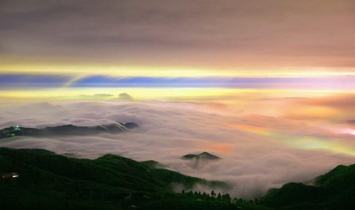 Туман в фотографиях Thunderbolt