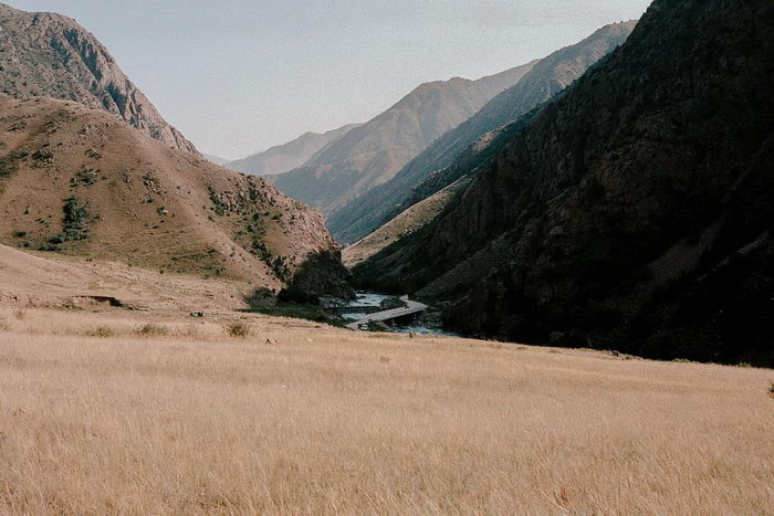 Невероятные просторы Киргизии в снимках David Schermann