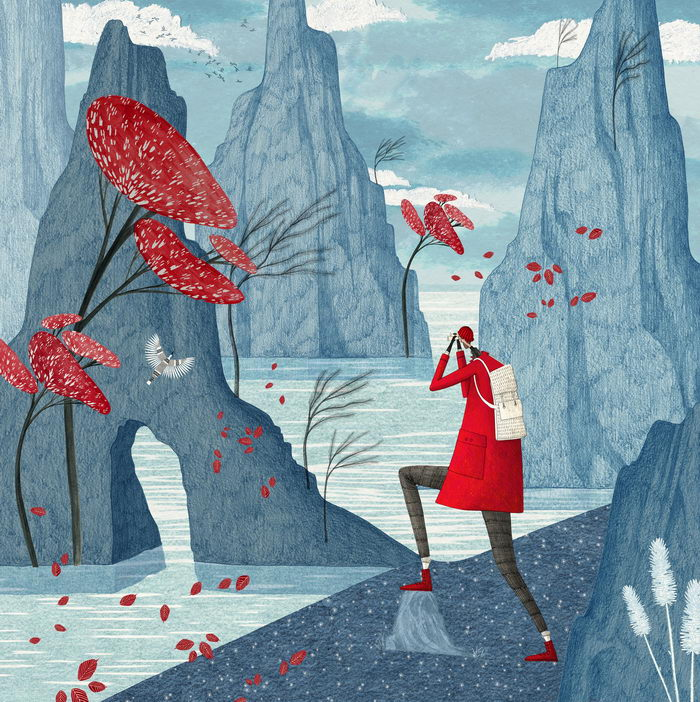 Ретро-иллюстрации Rosanna Tasker