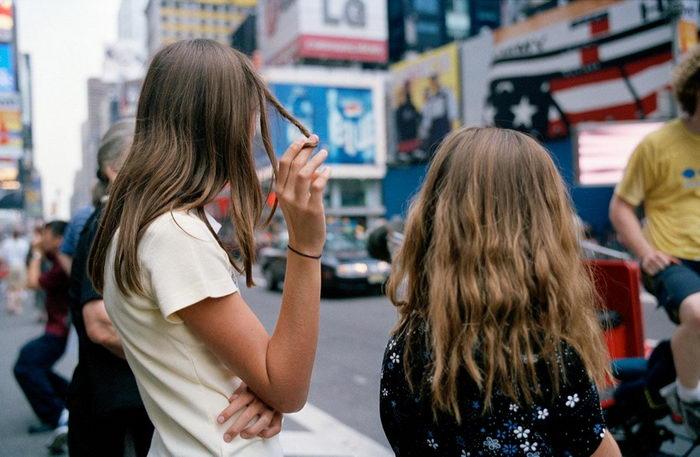 Быстрый город Нью-Йорк в фотографиях Jeff Mermelstein
