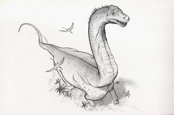 Динозавры в рисунках Raul Ramos