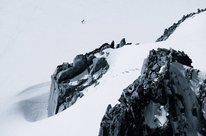 Маленькие люди в больших Альпах