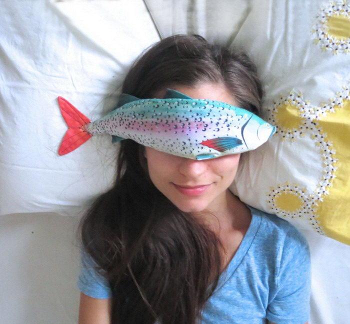 Ароматные подушки для глаз AliaGraceDolls в виде рыб