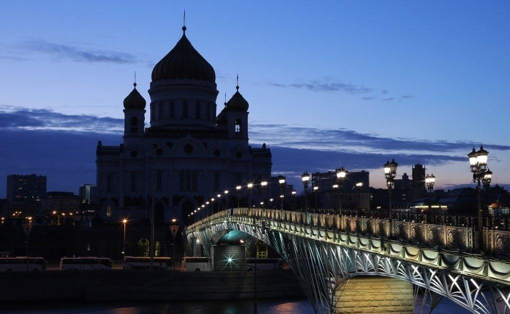 Час Земли в Москве