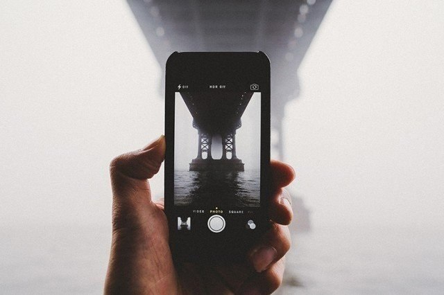 Фотографии Нью-Йорка на iPhone Sam Alive