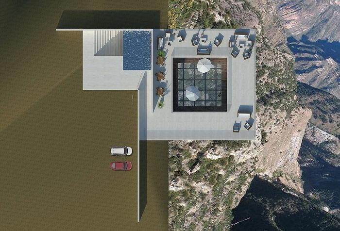 Проект бара для ценителей высоты и уединения
