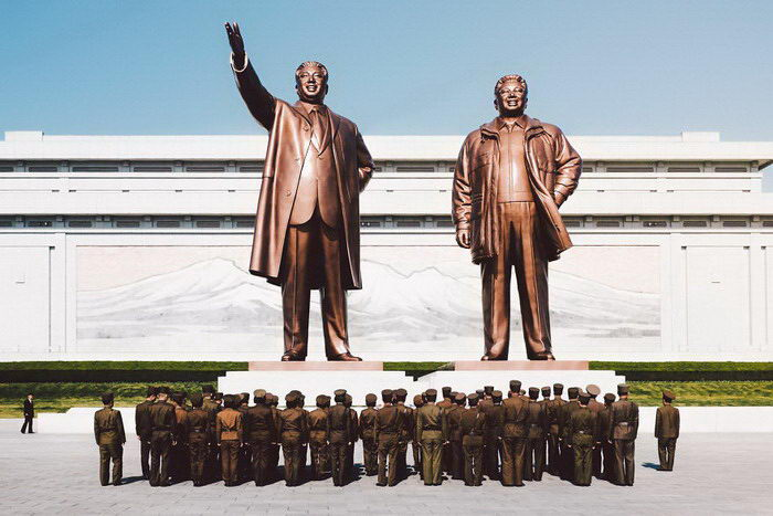 Северная Корея в фотографиях Adam Baidawi