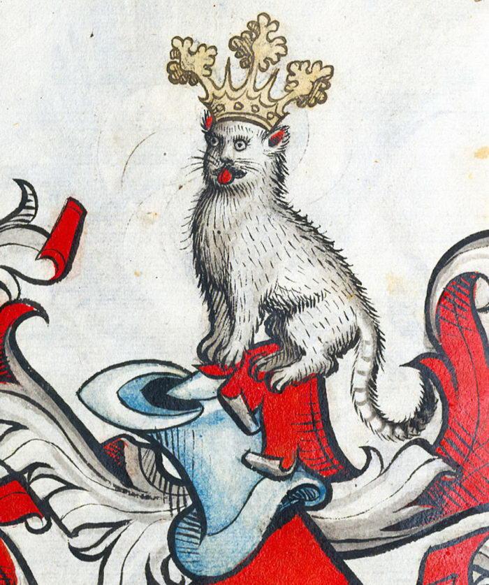 Как выглядели кошки на Средневековых гравюрах