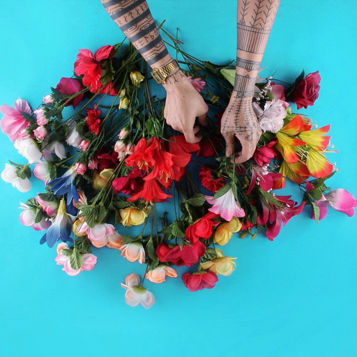 Руки художника в фотопроекте #whatmyhandsdoing