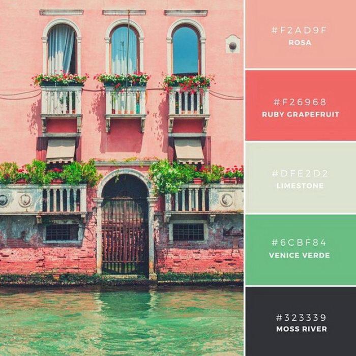 Цветовые палитры красивых фотографий
