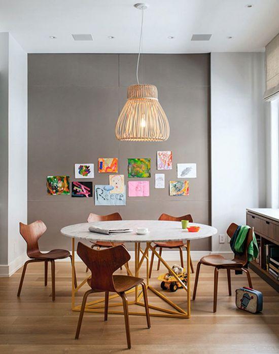 Дюплекс : двухуровневая квартира в Нью-Йорке