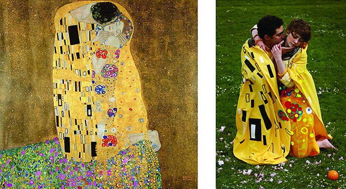Шедевры живописи, воссозданные в фотографии
