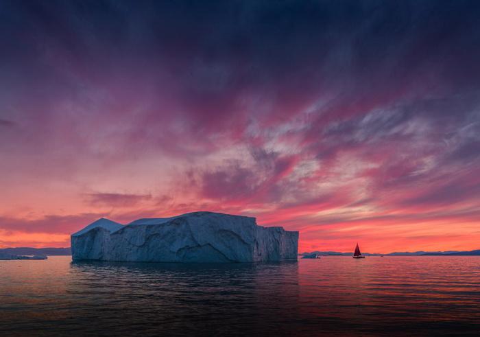Красота Гренландии в фотографиях Albert Dros