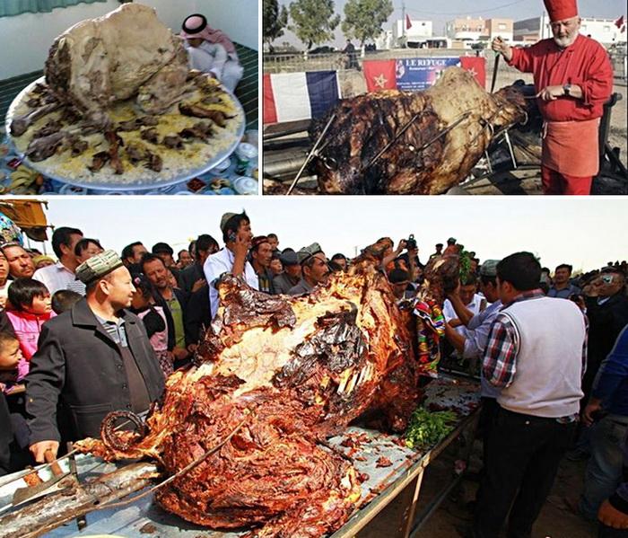 Блюда из верблюда