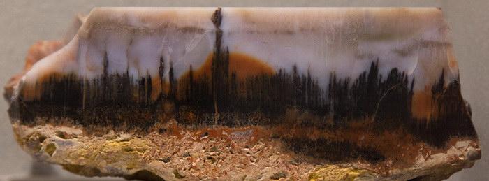 Агатовые пейзажи: чудеса природы в маленьком камешке