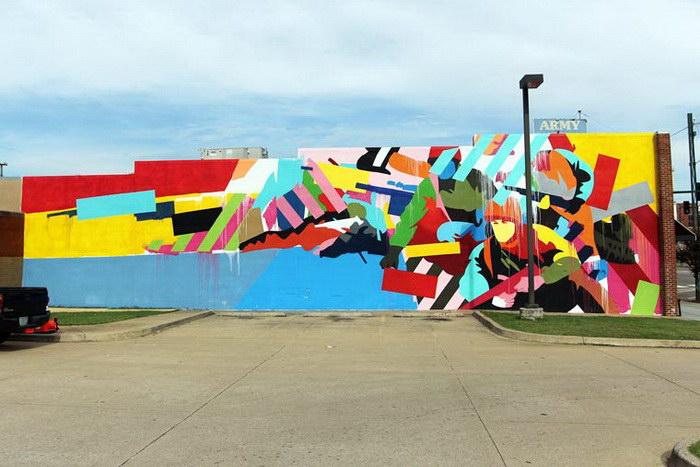 Фестиваль уличного искусства в Арканзасе