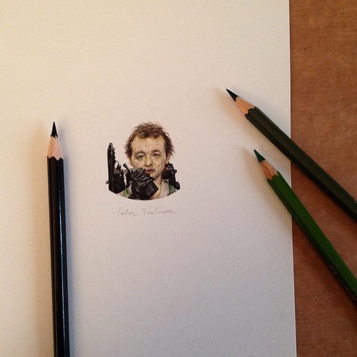 Миниатюрные зарисовки Claudia Maccechini