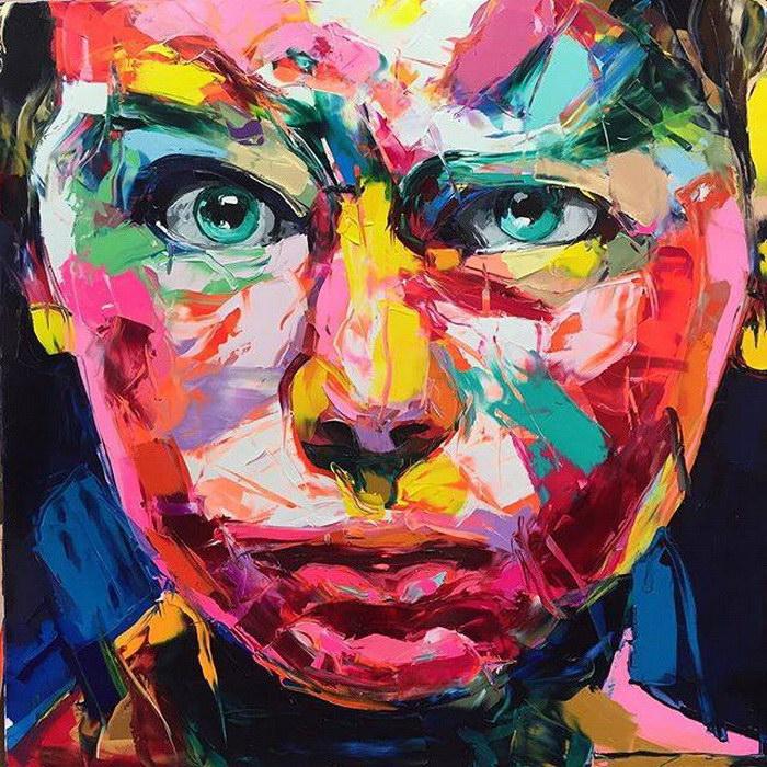 Экспрессивные портреты Francoise Nielly