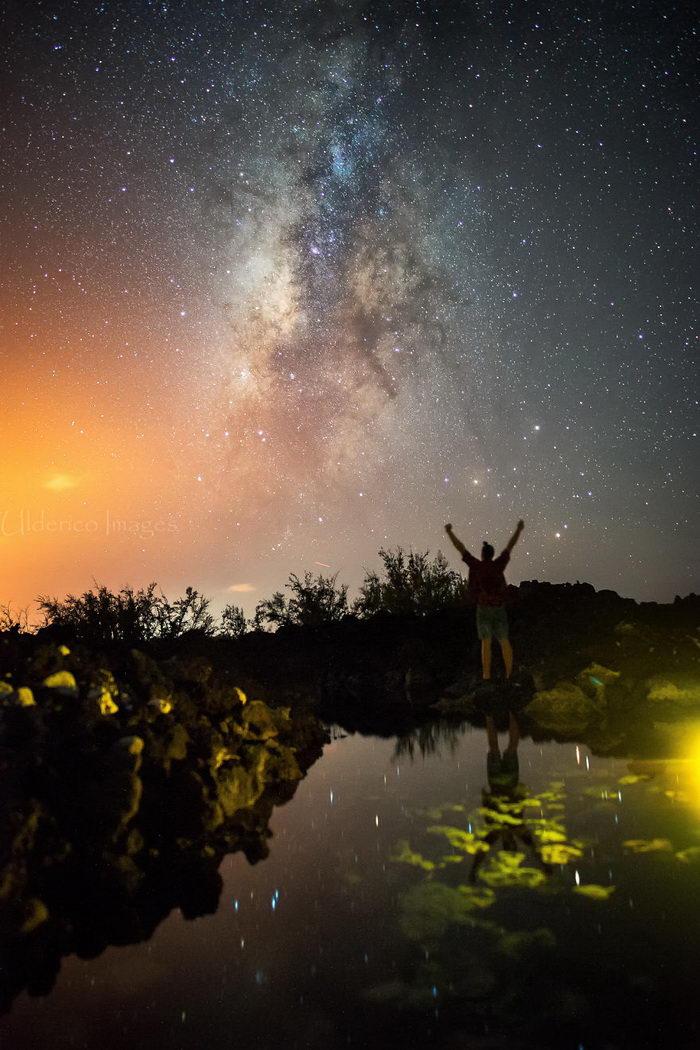 Млечный путь над Гавайями: фото Ulderico Granger