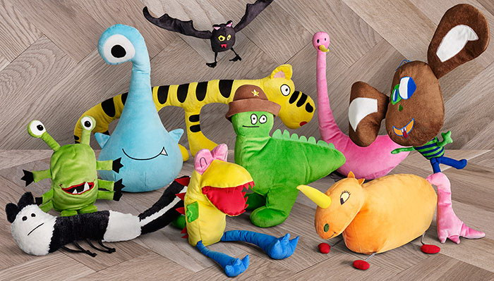 IKEA представила игрушки, созданные по рисункам детей