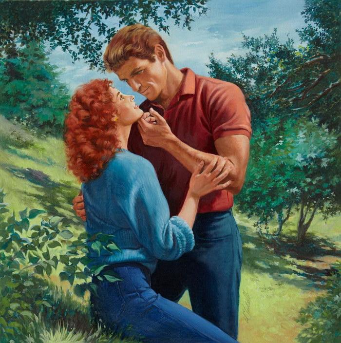Любовь и страсть: картины Ed Tadiello