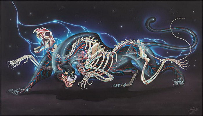 Иллюстрации Nychos
