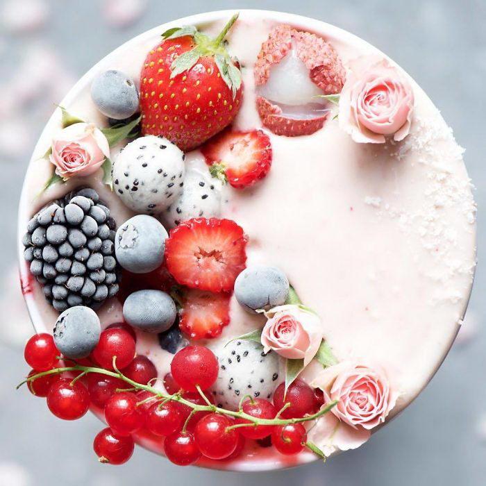 Радужная еда в Инстаграме Samira Kazan
