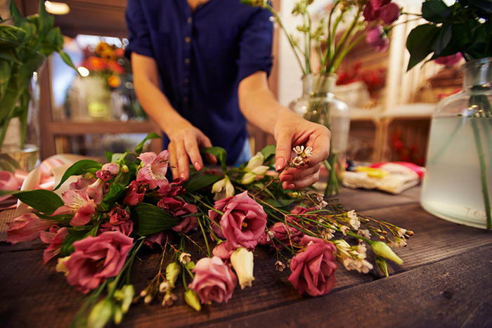 флористический магазин