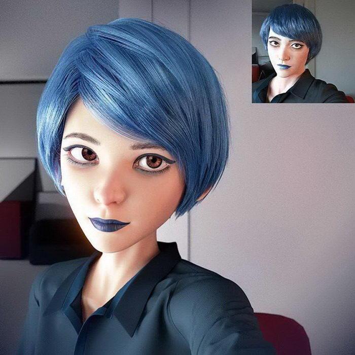 Из фотографии в 3D-портрет: работы Lance Phan