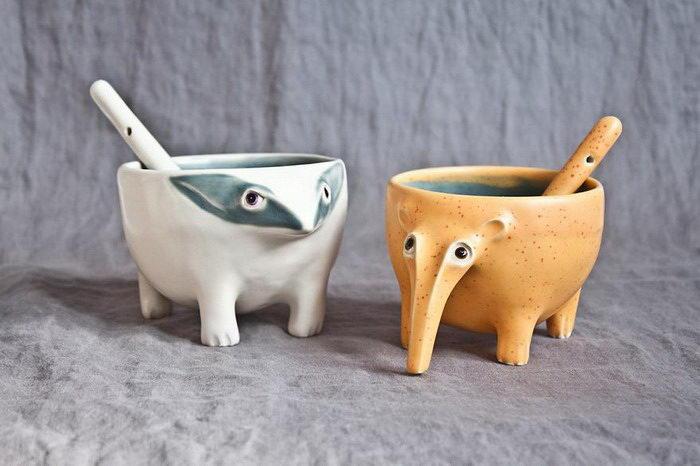 Керамические животные Audrone Dackute