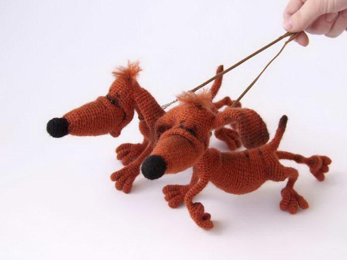 Вязаные игрушки Елены Yolochkini toys