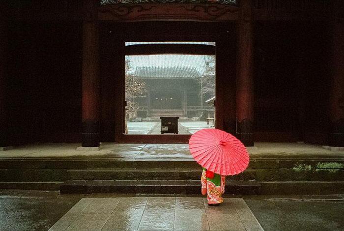 Быт Японии в фотографиях Shin Noguchi
