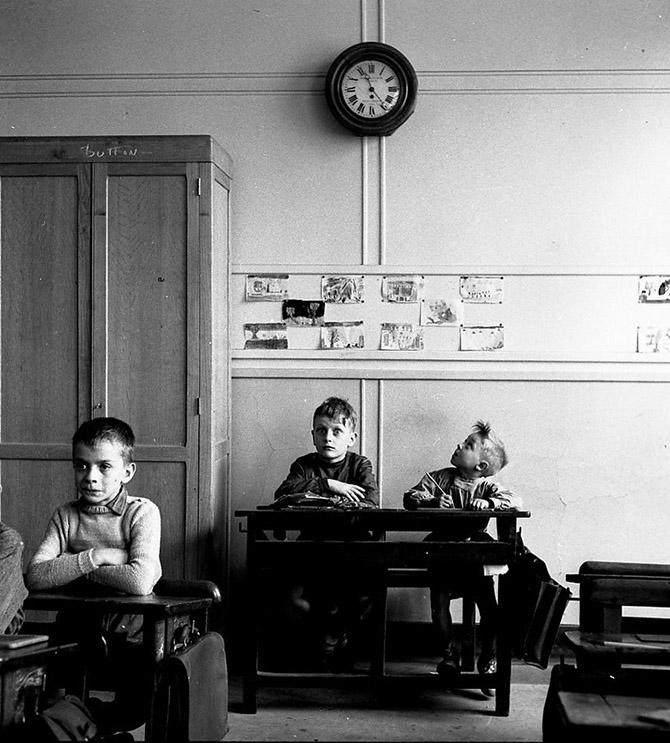 Черно-белая подборка мастера фотографии Robert Doisneau