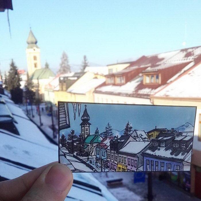 Восточная Европа в скетчах Maxwell Tilse